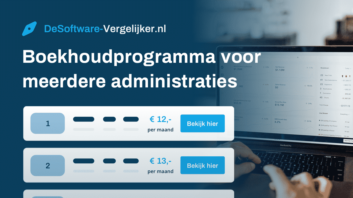 boekhoudprogramma voor meerdere administraties
