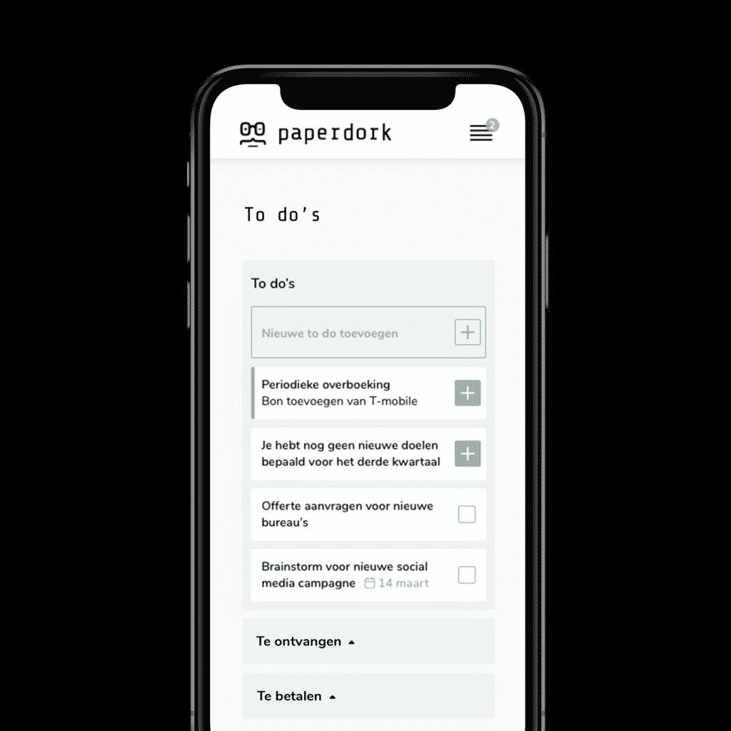 Todo_mobile_Paperdork_Boekhouder_Boekhoudprogramma