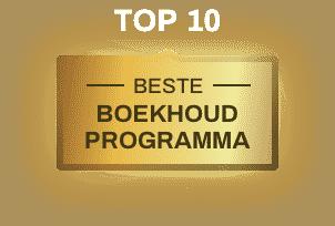 top 10 - beste boekhoudprogramma