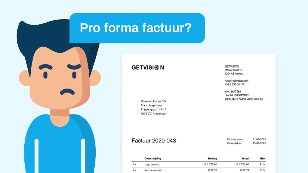 pro forma factuur