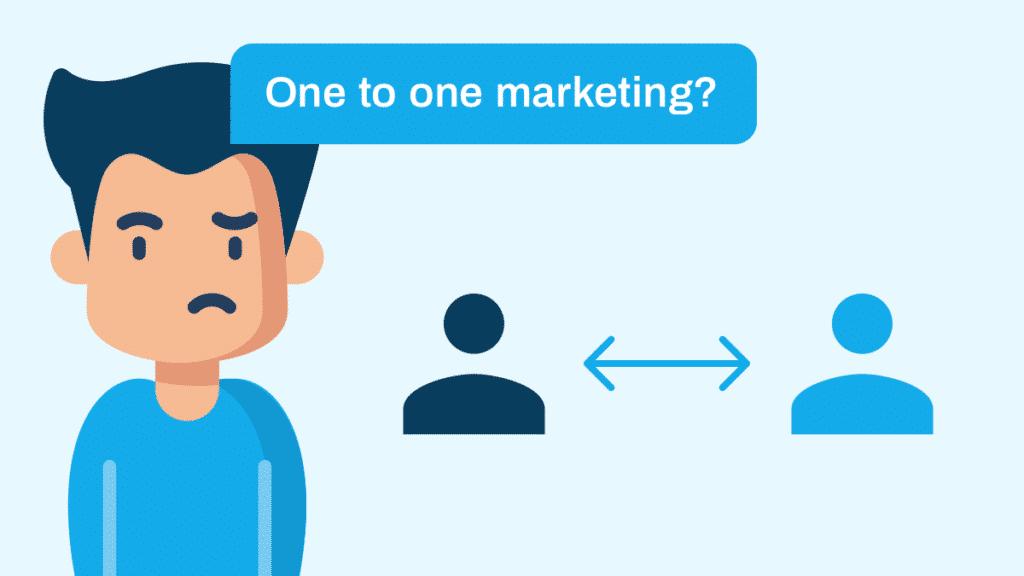 one to one marketing