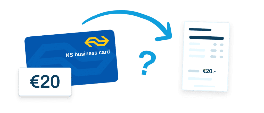 Hoe kan je BTW van je treinkaartje makkelijk in je administratie verwerken?