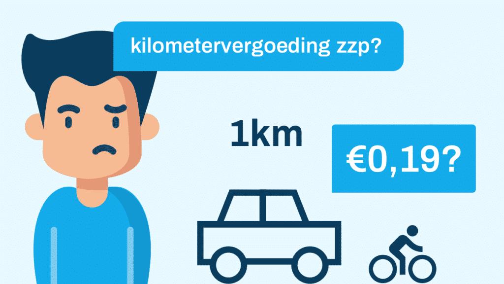 kilometervergoeding zzp