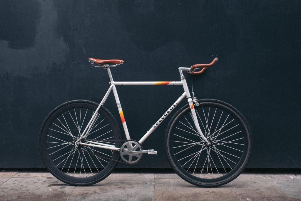 eigen fiets op pad
