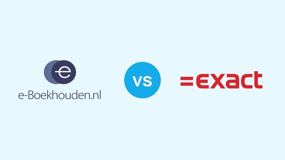 e-Boekhouden vs Exact