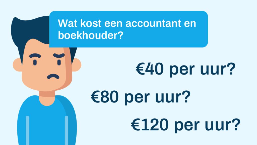 kosten accountant en boekhouder
