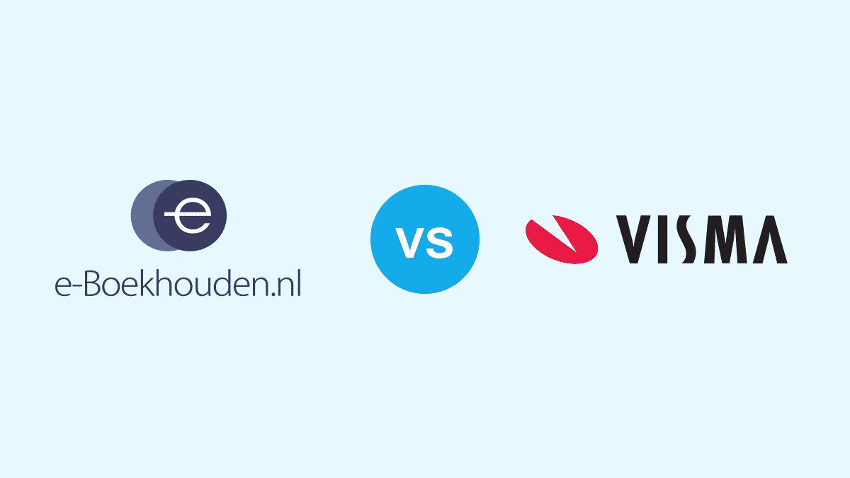 E-boekhouden vs visma