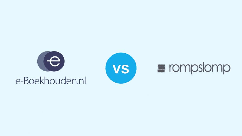 e-Boekhouden vs Rompslomp
