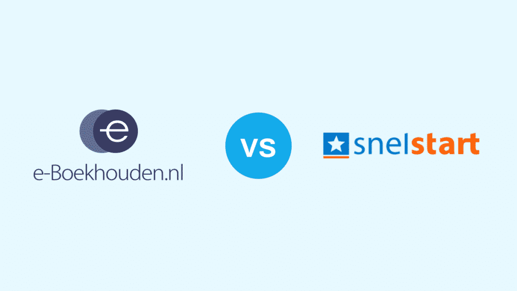 e-Boekhouden vs Snelstart