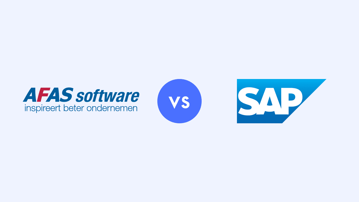 AFAS vs SAP